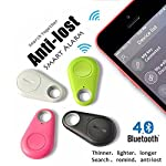 This anti-lost adopts latest bluetooth 4.0 low consumption technology, and through corresponding app to realize all the functions. It can effectively protect your kids, pets or valuables form being stolen or lost within 10m effective distance range, ...