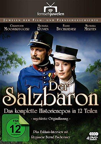 Der Salzbaron – Der komplette Historien-Mehrteiler (12 Teile) (Fernsehjuwelen) [4 DVDs]