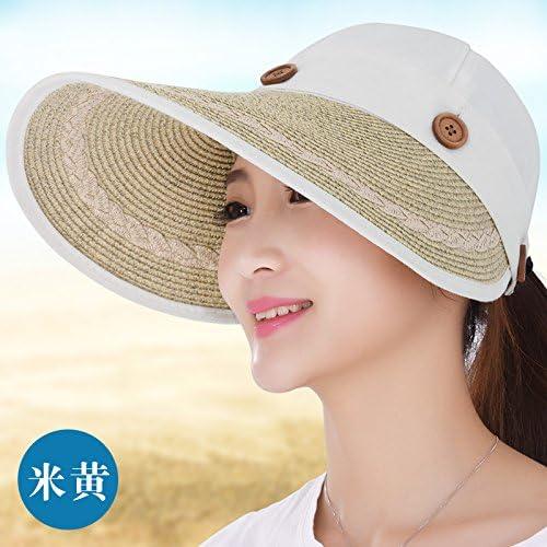 Vaevansp Cappello da Sole Estivo della della della Donna del Cappello Anti-Ultraviolato della Prossoezione Solare Lungo Il Pieghevole Vuoto Superiore Superiore del Dispositivo di Raffrossodonnato del Sole, B B075XKTLG5 Parent | Qualità e quantità garantite  | Di Qua fae94e