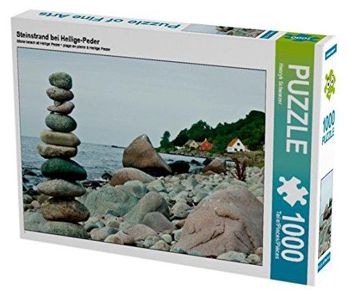 Preisvergleich Produktbild Steinstrand bei Hellige-Peder 1000 Teile Puzzle quer (CALVENDO Natur)