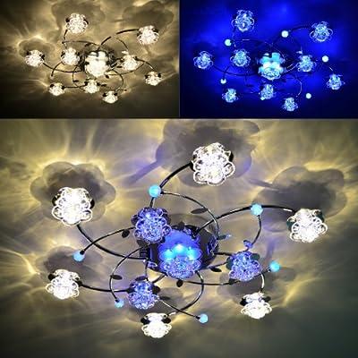"""Deckenleuchte """"Branco"""" 10FL LED Deckenlampe Farbwechsel Fernbedienung Lampe NEU von Maxkomfort auf Lampenhans.de"""