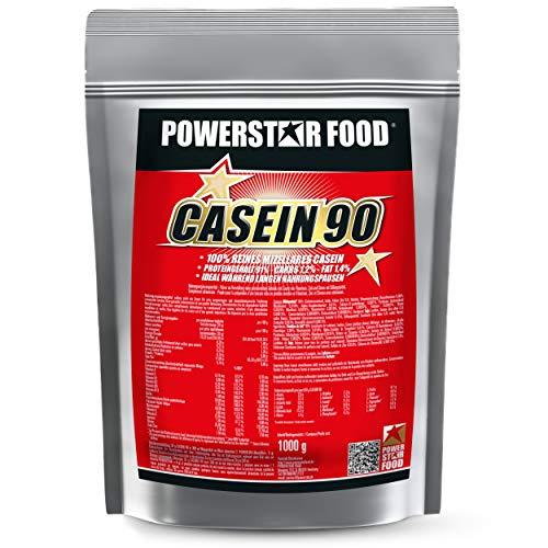 MICELLARES CASEIN BESTSELLER, Nachtprotein Protein-Shake als absoluter Preishit, 100% Calciumcasein mit sehr hohen 91% Proteingehalt i.Tr, lange Proteinversorgung für Diät und Nacht