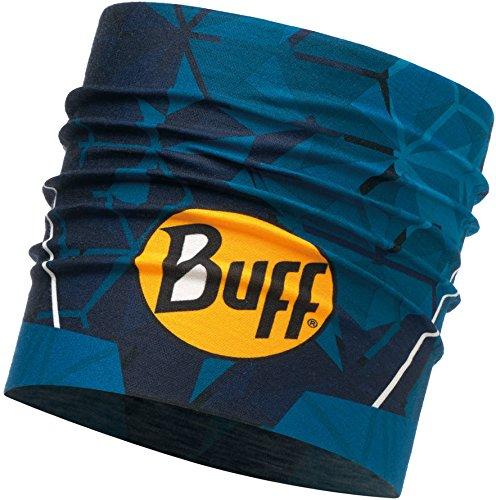 Buff Helix Bandeau Mixte Adulte, Bleu Océan, FR Fabricant : Taille Unique