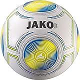 JAKO Herren Fußball Match Light, weiß-gelb blau, 5