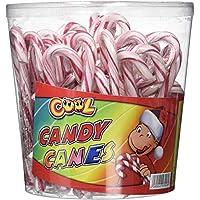 Cool Candy Canes 50 Zuckerstangen a 14 g rot/weiß, 50 g