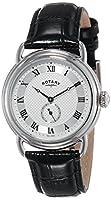 Rotary GS02424/21 - Reloj de cuarzo para hombre con correa de piel de Rotary