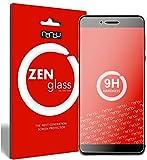 nandu I ZenGlass Flexible Glas-Folie für Vernee Mars Pro Panzerfolie I Display-Schutzfolie 9H I (Kleiner Als Das Gewölbte Display)