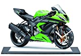 Kawasaki zx 6R 636, MINIATUR MODELL MOTORRAD in der Uhr 22