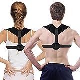Ailiebhaus Haltungskorrektur Geradehalter Schulter Rücken Haltungsbandage Verstellbar Rückenbandage Haltung Unterstützung für Damen und Herren