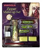 Zipper Kit With Zip, Face Paint, Fake Blood, Spirit Gum & Remover Halloween Accessory