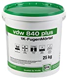 VDW 840 Plus 1K Fugenmörtel, 25 kg (basalt)