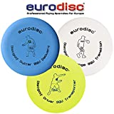 Eurodisc Disc Golf Set / Starter Kit SQU Putter Midrange Driver pour debutants