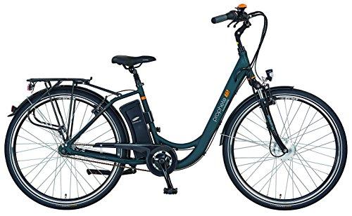 e bike mit mittelmotor und ruecktrittbremse PROPHETE E-Bike Alu-City 28
