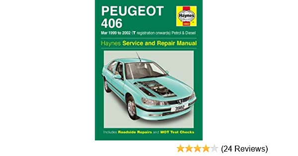 peugeot 406 petrol diesel mar 99 02 haynes repair manual march rh amazon co uk Peugeot 406 Manual Model 2003 Peugeot 406 Manual Model 2003