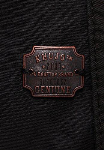 Khujo Blouson Men BEAM FABRIC CONTRAST Black - 5