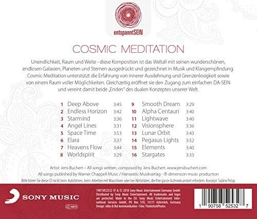 entspanntSEIN - Cosmic Meditation (A Journey Into Relaxing Ambient & Chillout Music) Sony Electronics Outlet