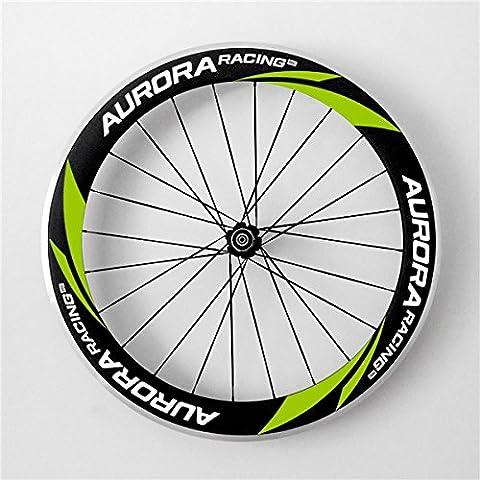 Aurora Racing 60mm de profondeur 20,5mm Largeur Alliage de 700C Carbone Paire de roues Pneu pour vélo de route DT Swiss 350S hub Sapim CX Ray