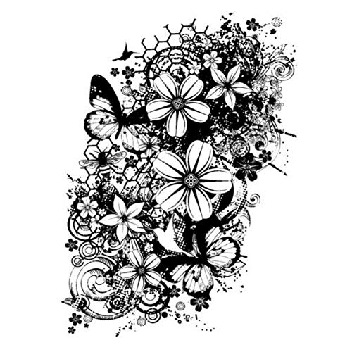 MHTEAAIIO Fiore/Timbri Trasparenti Trasparenti per Scrapbooking Fai-da-Te/Creazione di Cartoline/Decorazioni Divertenti per Bambini Natale M1206