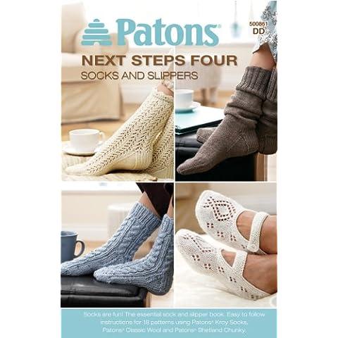 Patons-Next quattro passaggi: Calzini e pantofole