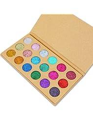 Allbesta 12 Farben Lidschatten-Palette, mit Schimmer und matten Oberflächen. T-666B