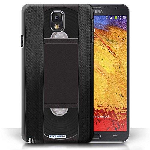 Kobalt® Imprimé Etui / Coque pour Samsung Galaxy Note 3 / Amp/Amplificateur conception / Série Retro Tech Cassette Vidéo VHS