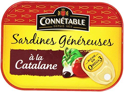 Connétable Sardines à la Catalane 140 g