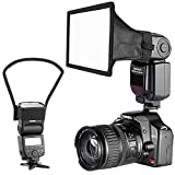 Neewer Camera Speedlite Flash Softbox and Reflector Diffuser Kit for Canon Nikon and Other DSLR Cameras Flashes, TT560 TT850 TT860 NW561 NW670 VK750II Flashes
