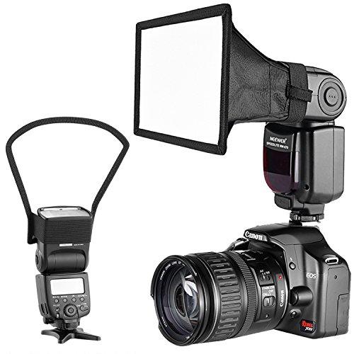 Neewer Kamera Speedlite Flash Softbox und Reflektor Diffusor Kit für Canon Nikon und andere DSLR Kameras Blitze, Neewer TT560 TT850 TT860 NW561 NW670 VK750II Blitze