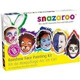 Snazaroo Face Paint Palette Kit - Rainbow, Unisex