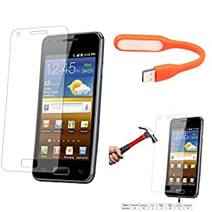 Qualitas Pack of 3 Tempered Glass for Lenovo K3 Note + Flexible USB LED Bright Light