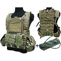 Airsoft Tactical Ajustable MOLLE Vest Bolsa de Agua de hidratación Depósito Militar CP