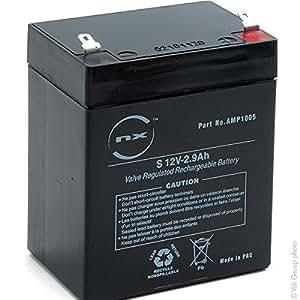 NX - Batterie plomb AGM S 12V-2.9Ah 12V 2.9Ah T1 - Batterie(s)