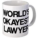 Best CafePress Attorneys - CafePress - World's Okayest Lawyer Mug - Unique Review