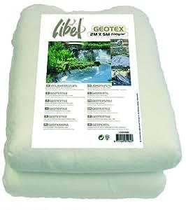 Ubbink feutre g otextile pour soubassement de bassin blanc for Geotextile pour bassin