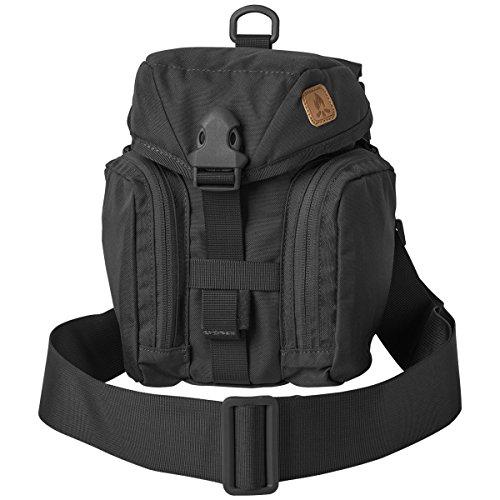 Helikon-Tex Essential Bushcraft Survival Kit Bag Tasche (Schwarz) (Bungee-veranstalter)