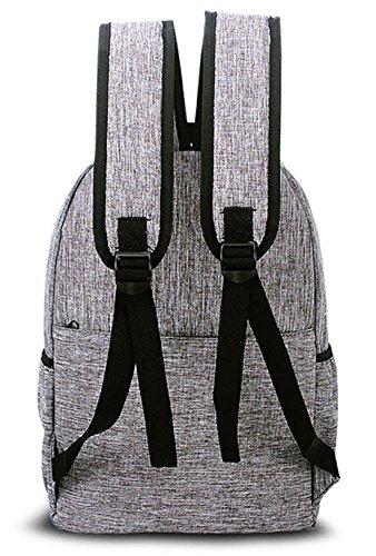 Keshi Leinwand neuer Stil Damen accessories hohe Qualität Einfache Tasche Schultertasche Freizeitrucksack Tasche Rucksäcke Pink
