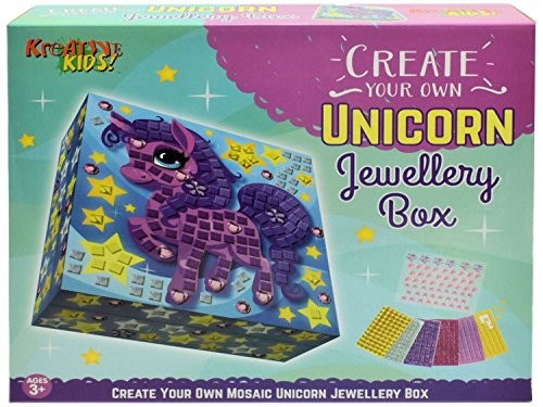 Create your own Unicorn Jewellery box