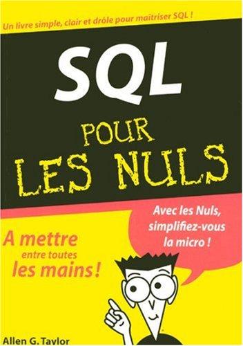 SQL MEGAPOCHE POUR LES NULS