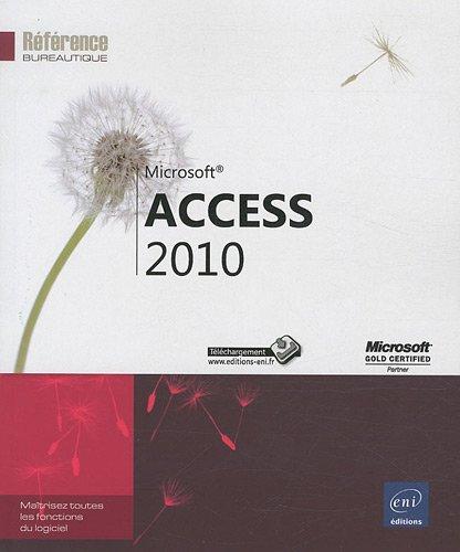 Access 2010 par Collectif