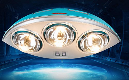 Dreifach-bad-wandleuchte (HHORD LED Bad-Wandleuchte Wand-warmes Bad Lichter zwei Lichter drei Lichter Wandlampe warme Lampe Toilette Lampen)
