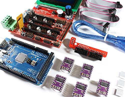 RoboMall Ramps 1.4 Kit + 12864 LCD Controller + DRV8825 Schrittmotoren Modular Surface Mount
