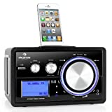 Auna MG-83i Musio Musikanlage (iPod Dock, UKW-Radio, 12500+ Radiostationen)
