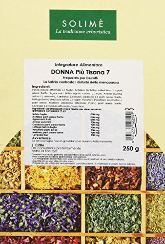 Donna Più Tisana con Salvia per i disturbi da menopausa 250 g - Prodotto erboristico made in Italy