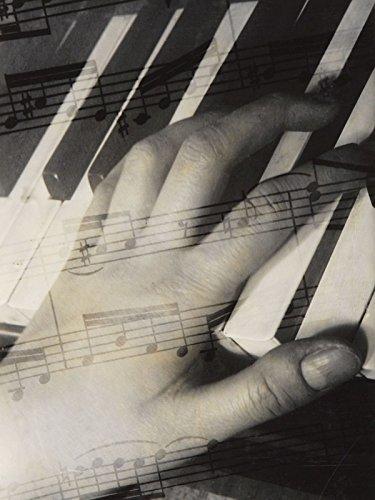 Artland-Poster-Kunstdruck-oder-Leinwand-Bild-Wandbild-fertig-aufgespannt-auf-Keilrahmen-Aenne-Biermann-Komposition-1929-Musik-Instrumente-Fotografie-SchwarzWei