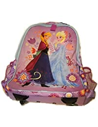 Disney Store Frozen Elsa/Anna Rolling Luggage Backpack by Disney