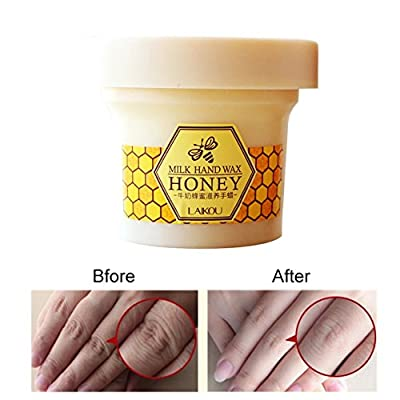 Hanyia Milk Honey Paraffin Wax Hand Wax Hand Mask Hand Skin Care Moisturizing Whitening Exfoliating soft tender Hand Cream 120g