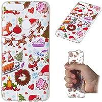 Weihnachten Hülle für Huawei P Smart,Artfeel Weihnachten Spielplatz Muster klar Weich Silikon Zurück Handyhülle... preisvergleich bei billige-tabletten.eu