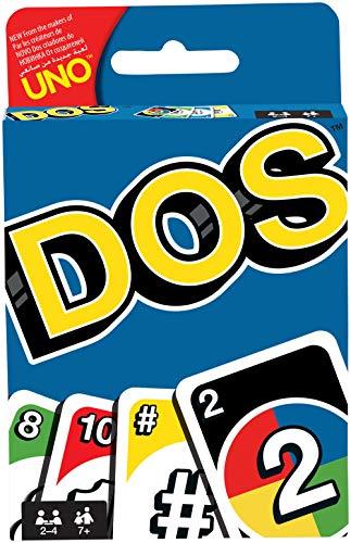 Mattel Games FRM36 DOS Kartenspiel, geeignet für 2 - 4 Spieler, Spieldauer ca. 30 Minuten, ab 5 Jahren