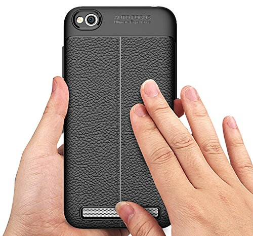 buy online 9b948 8744a Buy Tapfond Xiaomi Redmi 5A case (December 2017) PU Leather Texture ...