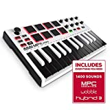 AKAI MPK Mini MKII LE 25-Key Portable USB MIDI Keyboard- White (Special Edition)